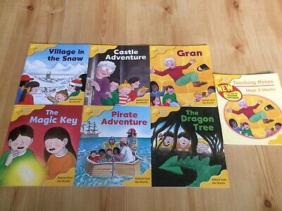 Oxford Reading Tree Stage 5, Pack 6 Books & Teaching Notes New Biff Chip Kipper