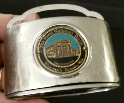The First National Bank Wisconsin Rapids Wis Wi Chicago Thrift Coin Bank Pat 23