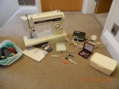 Frister & Rossmann Beaver 4 Sewing Machine With Case & Acc - Spares & Repairs