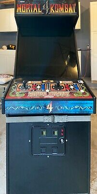 Mortal Kombat 4 Arcade Machine (with 1800 games!)