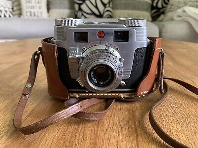 Kodak Signet 35 camera with leather case Synchro 300 And Original Instructions