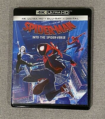 Spider-Man Into The Spider-Verse - Blu-Ray and Digital - UHD Disc Excluded