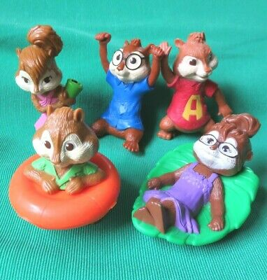 Alvin And The Chipmunks 2011 Lot Of 5 Chipwrecked Figures Mcdonalds Toy 10 99 Picclick