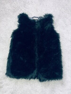 Next Girls Fur Gilet  Age 5
