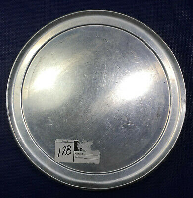 Aluminum Pizza Pan 12'' cake pie tray serving baking separator plate camping
