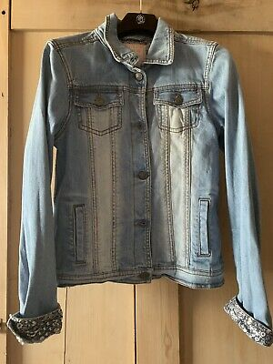 Fat Face Girls Denim Jacket Size 12/13 Years