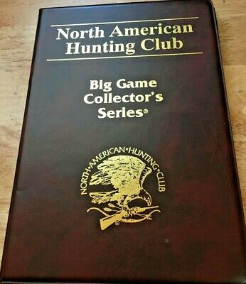 NAHC North American Hunting Club Big Game Collectors Series One (1) Bronze Coins