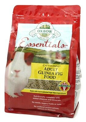 Oxbow Essentials Cavy Cuisine Adult Guinea Pig Food   Small Animals