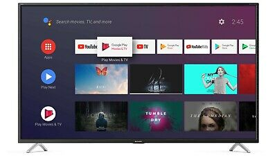 "Smart Tv Led Lc-40Bl5Ea Sharp 40"" 4K Ultra Hd Android Tv Nuovo Garanzia 24 Mesi"