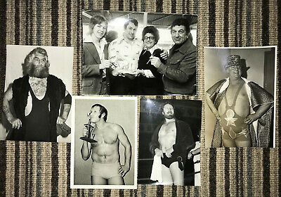 A Collection of 40 different Vintage British Wrestling prints