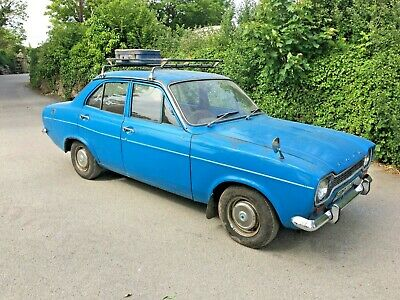 Ford Escort Mk1 Very Original Condition. Dry Stored For Years. UK Car. RHD