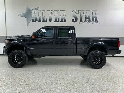 2012 Ford F-250  2012 F250 Lariat Tuscany Black ops Conversion Powerstroke ProLift Loaded NICE TX