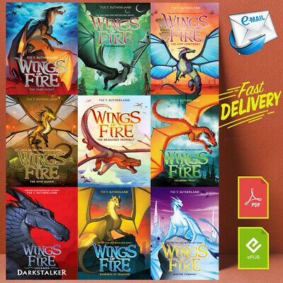 Wings Of Fire #1-15 Books Set Collection by Tui T Sutherland ⚡Full Version💯
