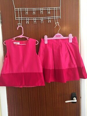 Stunning Genuine Ted Baker Baby Girls Two Piece Outfit Aged 9 Years