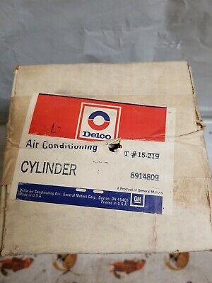 NOS Delco GM Air Conditioning Cylinder 5914809 15-219