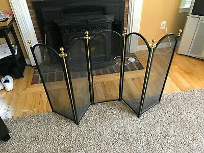 Virginia Metalcrafters  5 Panel Fireplace Screen