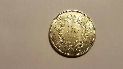 France Silver 10 Francs Coin 1965