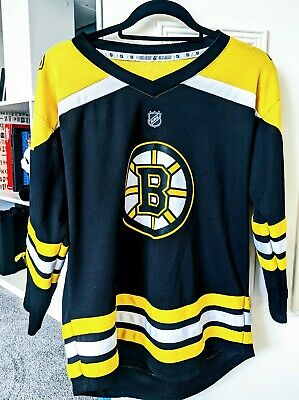 ICE HOCKEY Bruins Youth XL Official Jersey Shirt (ladies size 12)