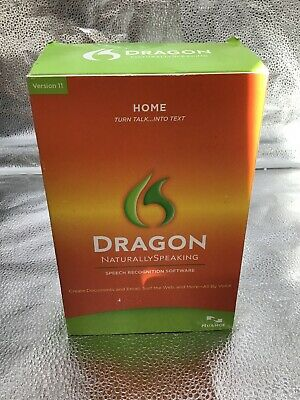 Dragon Naturally Speaking Speech Recognition Software Old Version 11 Nuance