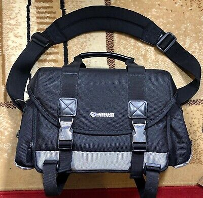 Free shipping! Genuine Canon Digital Camera Case Gadget Bag w/ Dividers 200DG