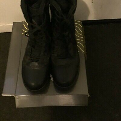 Nortiv8 Military Combat Boots Black Used