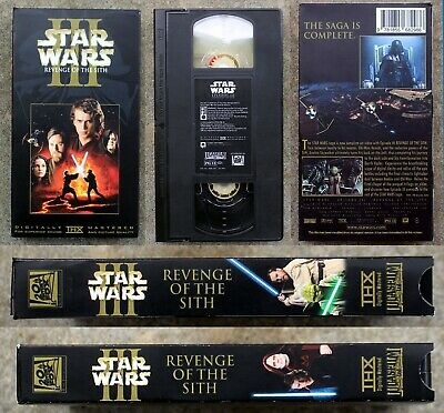 Vhs Star Wars Episode 3 Iii Revenge Of The Sith Cbs Fox Dvd Blu Ray 29 99 Picclick