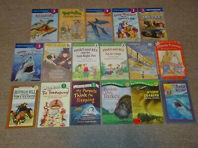 Lot 20 Level 3 Step Into Reading Hello Reader DK Home School Ready-to I Can Read