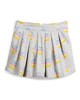 Little Marc Jacobs Size 2T Gray Pleated Polka Dot Skirt NWT