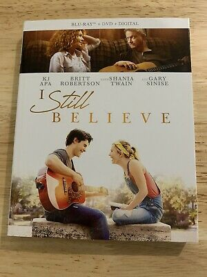 I Still Believe bluray new with slipcover