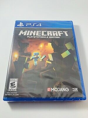 Minecraft PlayStation 4 Edition (Sony PS4, 2014) NIB New - Sealed - SHIPS FAST!