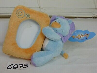 """Kelly Baby Plush Toy Picture Frame 5.5"""" Baby Photo Frame  For 4"""" X 6"""" Cat ?"""