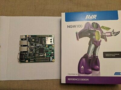 AVR32 NGW100 Microcontroller Evaluation Kit