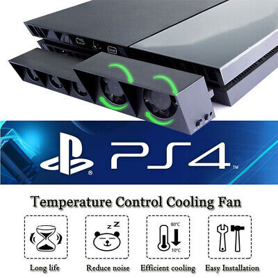 5 Fan For PS4 Play Station4 Host Cooling Fan Gamepad Cooler Game Accessories