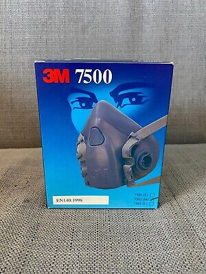 3M 7502 Medium Sized Half Facepiece Reusable Respirator - No Filters Included