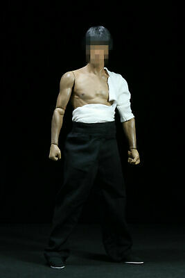 1/6 Scale Male Kung Fu Clothing Suit Set Fit 12'' Male Action Figure Body Model