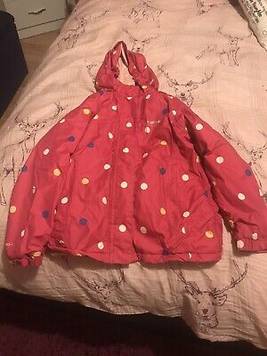 Girl's Waterproof Regetta Coat Size 7/8 Years