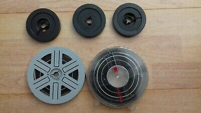 Super-8 8mm film home movies. Various. 5 items.