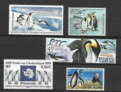 PENGUINES/ BIRDS small group of issues Mint NH