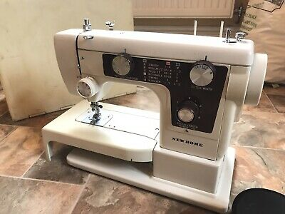 New Home by Janome Working Sewing Machine With Case model 641 YDK pedal Tested