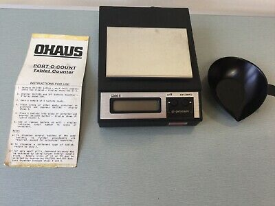 OHAUS PORTO  TABLET / PILL/ CAPSULE .COUNTER RARE VERY PRECISE, PHARMACY/VETs.
