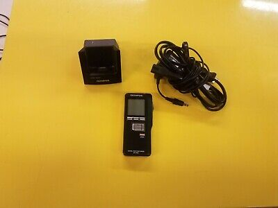 Olympus DS-5000 Digital Voice Recorder With Dock & Power Supply Free S/H