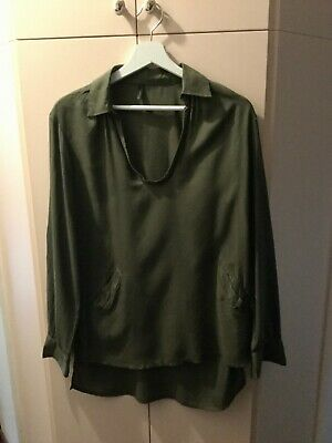Blusa donna verde United Colors of Benetton
