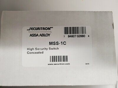 Securitron MSS-1C High Security Switch