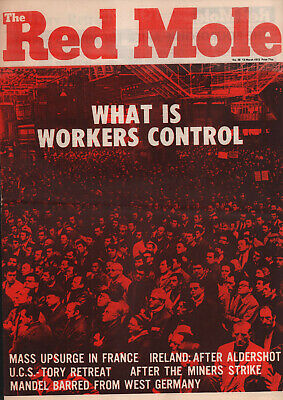 RED MOLE no38 WHAT IS WORKERS CONTROL? 1972