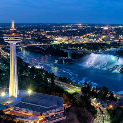 Skylon Tower in Niagara Falls - Pass for 4 People for Elevator, 4D and Parking