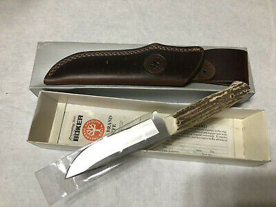 Boker Tree Brand Classic Hunter Stag Antler handle new 440 stainless