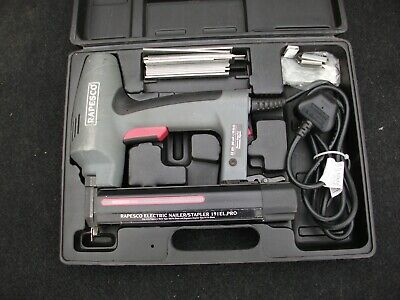 Rapesco master nailer  191EL PRO 240V + case + nails/staples