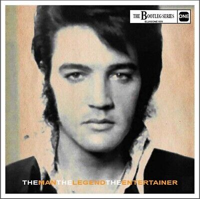 Elvis Collectors CD - The Man, The Legend, The Entertainer (Brand New Release)