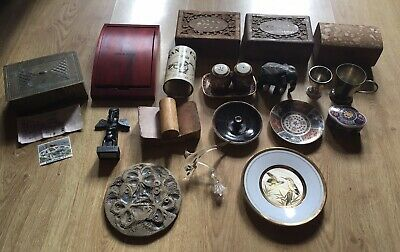 House clearance:Vintage Items, Silver, Cunard, Japan, Coins, Gold In Can, Jarrah