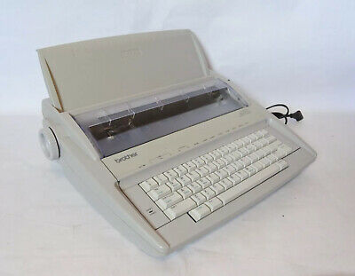 Brother Correctronic GX-6750 Electronic Typewriter w/ Cover Tested Working
